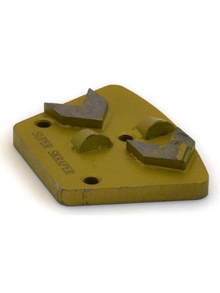 SUPER SKRAPER PCD Diamond Tools Trapezoid 2+2 Segments