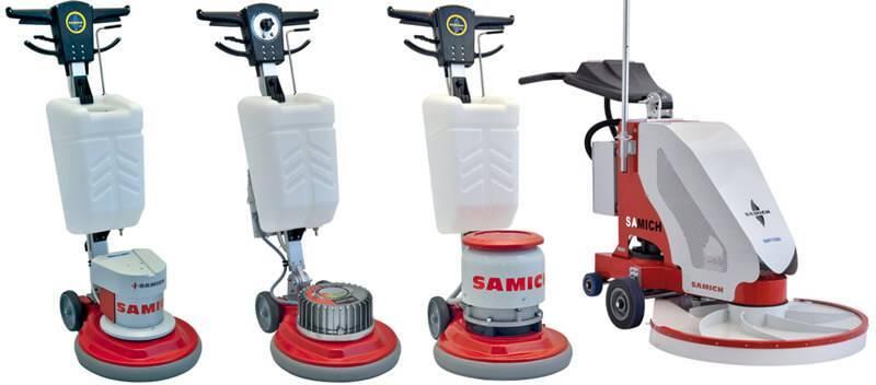 Concrete Floor Scraper Machine