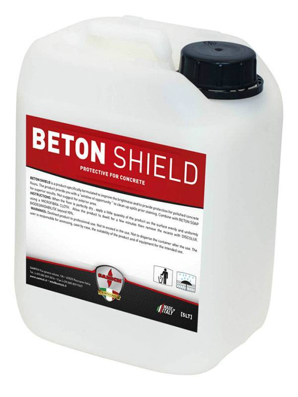 Beton shield